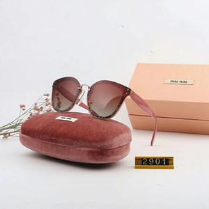 Marca de verão das mulheres óculos de sol adumbral óculos de armação completa polarizada moda óculos de sol para as mulheres de vidro uv400 com caixa