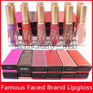 Zu Marke Faced Geschmolzene zu Makeup Faced Geschmolzene Lip Gloss Sexy Make Up Geschmolzene Matte Liquified Lang Wear Matte Lippenstifte 12 Farben