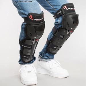 Motorcycle Knee Pads Men Motocross Racing Knee Guards Protective Gear Black Motorbike Protector Elbow Moto Kneecap Riding