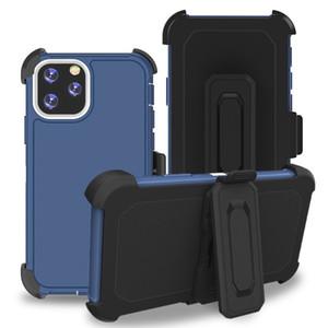 Nuovo difensore della clip cassa del telefono di tripla per Stylo 6 K51 5 4 3 Aristo K40 Caso Protecive copertura Aristo 5 4 Plus K30 2019 Fuga Heavy Dute Holster