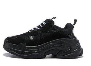 2020 Тройной 20fw мужчины женщины моды роскошь дизайнер обуви платформы кроссовки черные разводятся белые зеленые серые мужские тренер случайные марочные обуви