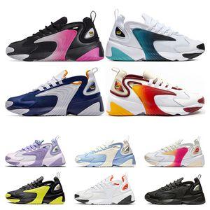 nike zoom 2k  2019 hot running shoes para homens ser verdadeira multicolor orgulho univery verde vermelho branco mulheres sports sports sneaker formadores tamanho 36-45