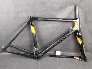 Noir-Or Colnago C64 cadres de route de carbone UD mat brillant 48 50 52 54 25 56cm couleurs pour la sélection Livraison gratuite