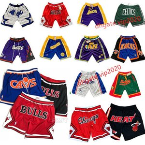 Pantalones para hombre barata Deporte Sportwear pantalones cortos de baloncesto Don transpirable retroceso Training retro con cremallera bolsillos cosidos