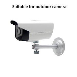 4pcs / bolsa de Cámaras soporte para la instalación de cámaras de seguridad del soporte de montaje mural del sostenedor del metal rotativa usada en exteriores e interiores