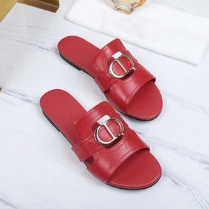Spring   Summer 2020 new products, cowhide, inner layer sheepskin cheap best women sandals designer shoes luxury non-slip summer fashion wid