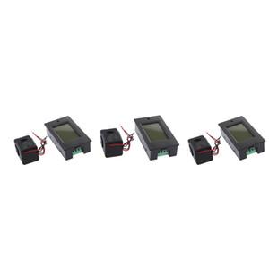 3Pack 80V-260V 100A Current Voltage Power Analyzer Meter Ammeter Voltmeter