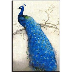 Beautiful Peacock,Home Decor HD Print Modern Art Canvas (Unframed   Framed) 24x32&quot