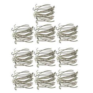 200 parti / pacchetto fai da te perline di metallo Bookmark Book Marks cancelleria gioielli Label fanno DIY bomboniera