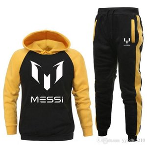2020 Tracksuit Men Set Letter Sportswear Sweatsuit Male Sweat Track Suit Jacket Hoodie with Pants Mens Sporting Suits whirt gray S-2XL