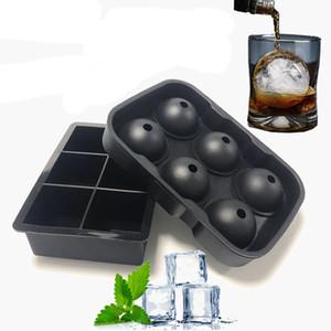 Whiskey Ice Cube Mold bola redonda fazer o molde de creme Verão Ice Mold Bar Beber Bandeja Ice Wine tijolo Round Bar Acessórios BH3176 TQQ