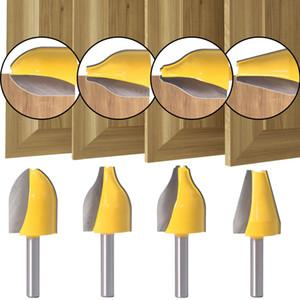 8 milímetros Shank Painel Raiser Router Bit Vertical Ogee moagem em pedaços cortador de madeira do cortador ferramentas para trabalhar madeira Poder cortador