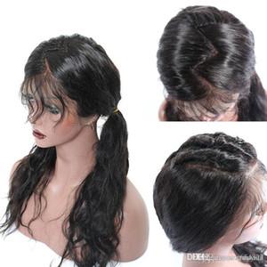 Tam Dantel İnsan Saç Peruk İnsan Saç Dantel Ön Peruk Ucuz Su Gevşek Dalga Bebek Saç ön koparıp Doğal Ücretsiz kargo