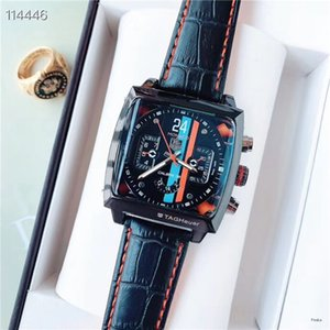 2020 fashion Luxury Man Women Black leather Watch Nice designer Stainless Steel Sexy Lady Watch Chronograph Quartz Clock drop shipping