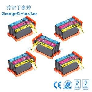 15 ADET CMY LM100 100XL Mürekkep Kartuşu için Uyumlu 108XL Lexmark S305 / S405 / S505 / S605 / Pro205 / 705/805/905 Yazıcılar 3
