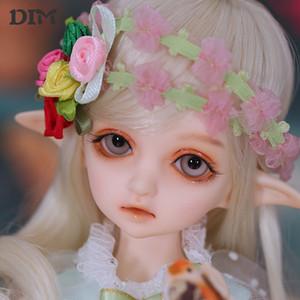 OUENEIFS Flowne muñeca muñecas BJD sd Dim 1/4 modelo cuerpo chicos, chicas, ojos juguetes de alta calidad de la tienda de resina T200428