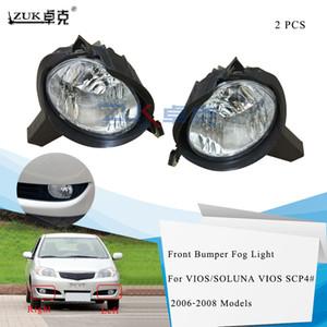 ZUK Car Lights Front Bumper Fog Light Fog Lamp Assy For Toyota VIOS   SOLUNA VIOS SCP4# 2006 2007 2008 Foglight Foglamp