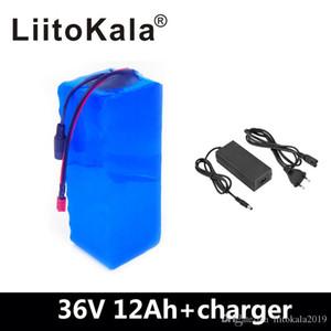 LiitoKala 36V 12AH bateria elétrica da bicicleta construído em 20A BMS Lithium Bateria 36 Volt com 2A carga Ebike Bateria
