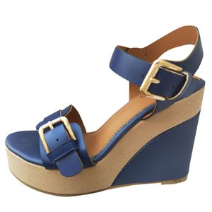 bayan sandalet unisex Light weige Breath Summer Womens Platform High Wedge Heel Sandals Ankle Strap Peep Toe Comfy Shoes
