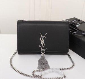 Desginer золото и серебро женщин цепи сумки люкс Crossbody сумки для женщин реального кожаных мешков плеча 5ize: 22-16-5cm