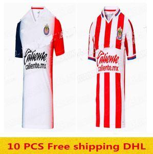 20 21 jersey de football Thaïlande Chivas 2020 2021 liga mx Guadalajara chivas maison loin BRIZUELA 3ème maillot de football Hommes + enfants de futbol Camiseta