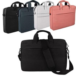 Laptop Messenger Shoulder Bag Covers Case For 13.3-15.6 Inch Macbook Computers Notebook PC Crossbody Bags Polyester Handbag Carry Briefcase