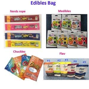710 Edibles Embalagem Mylar saco à prova de cheiros Package 420 risadas Medibles nerds CORDA Flav infundido Doce Gummies Embalagem Bag para Candy F