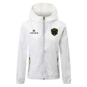 Liga MX FC Juarez футбол толстовка ветровка куртка пальто бренд беговые куртки водонепроницаемый ветрозащитный с капюшоном молния ветровка мужские куртки