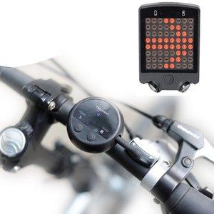 LED Wireless-Blinker Fahrrad Light- nachladbare geführte Fahrrad Taillight- Sicherheit Fahrrad-Licht für Long Distance Radfahren Warning