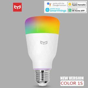 Yeelight Smart LED Bulb 1s colorido Lamp 800 Lumens 10W E27 Para Xiaomi Mi Mijia App / Apple Homekit / Google Assistant / Smartthings