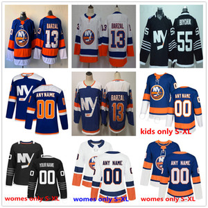 Homme personnalisé Femmes Enfants New York Islanders Hockey Jerseys Youth Andrew Ladd Josh Bailey Denis Potvin Clark Gillies Mike Bossy Pelech Mayfield