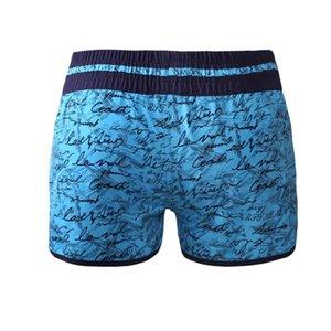 Pa Meng Europa E América Verão do feriado do dia único impresso Carta Surfing Beach Casual Versátil Boxer Shorts 410278