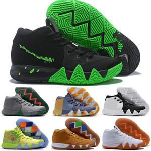 Cheap Kyrie IV verde afortunado encantos Mens 2020 calça All New Páscoa Dia das Bruxas de basquete para venda 4 Calçado desportivo