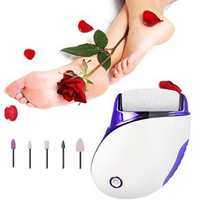 USB-elektrischer Kallus-Entferner Fußfeile Pediküre Maniküre Fußpflege Werkzeug Kallus-Entferner Set für Dead Skin Nail Buffer Polierer