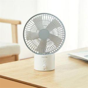 Mini SmartFrog 8inch carregamento Circulation Air Fan 120 graus Wide Angle 8 Velocidade do vento Fan USB