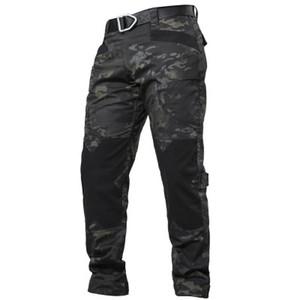 IX6 Ville tactique Cargo Pants Men Combat SWAT armée Pantalon en coton stretch beaucoup de poches souples Homme Casual Pantalons XXXL