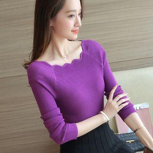 OHCLOTHING 3251 - 2016 корейский осень новый женский свитер рубашка 28