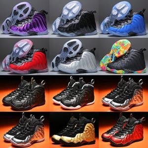 2019 New Kids Penny Hardaway Calzado de baloncesto para jóvenes 13s Gold Pro 1s Fashion Sports Training Sneakers Tamaño 28-35