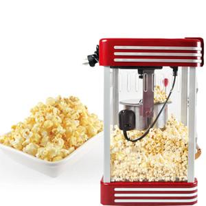 220V portátil fabricante de palomitas retro eléctrico herramienta del hogar DIY Popper Party Machine Inicio Máquina automática Mini palomitas de maíz.