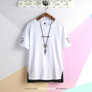 Marque printemps Vêtements hommes conception T-shirt à manches courtes T-shirt de camouflage masculina T-shirt militaire cassé T-shirt