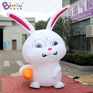 3m tall inflatable easter bunny, 10ft inflatable easter rabbit with carrot for Easter decoration - toy