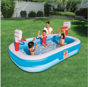 Original authentic Bestway family basketball paddling pool inflatable swimming pool children's ocean ball pool