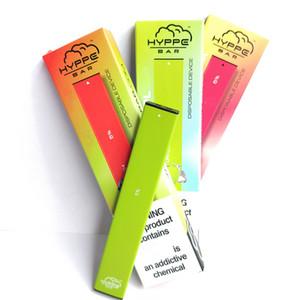 Hyppe Bar Tek Cihaz Pod 280ml Pil 1.3 mi Kapasitesi Vape Kalem Kartuşları E Sigara Bakla VS Mr buharı Bidi Puff Glow Ezzy