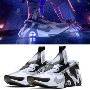 ADAPT Huarache Racer huaraches diseñador de los zapatos corrientes de los hombres Triple negro rojo blanco gris azul transpirable para hombre de las zapatillas de deporte entrenadores deportivos