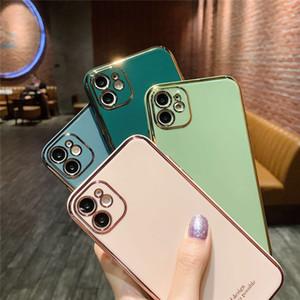 NEW SE2020 Высокое качество Покрытие камеры Защита Bling чехол для Iphone 11 X 6 7 8