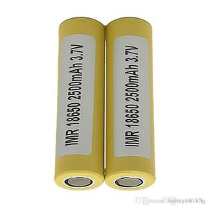 Meilleure qualité 18650 batterie LG HE4 18650 batterie 2500mah 35A chargeur plat Fit Ecig 200 w Mod Fedex Free Ship