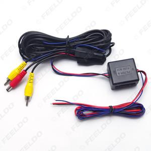 Araç Geri Görüş Kamerası Video Power Telleri Kablolar VW AUDI BMW Cadilac Otomobil # 2982 için Röle Kondansatör LMZ Filtre Stabilize
