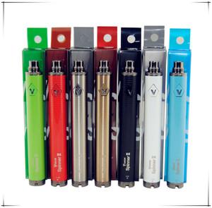 100 % 품질 비전 스피너 II 2 Vape 모 자아 C 트위스트 배터리 VV 가변 전압 조절 전자 CIGS 담배 분무기 카트리지 Vape 펜