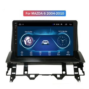 9 inch full touch Android 10 car gps navigation multimedia radio player for Mazda 6 2002-2008