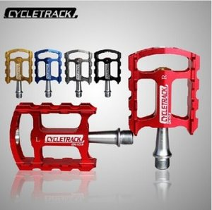 CK-109 pedal de bicicleta pista de ultra leve liga de alumínio de alumínio da montanha pedal de dobramento